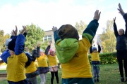Aktyviai paminėta kūno kultūros ir sporto diena