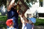 Vasaros džiaugsmai darželyje